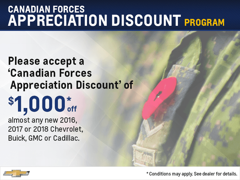 Canadian Forces Discount Program